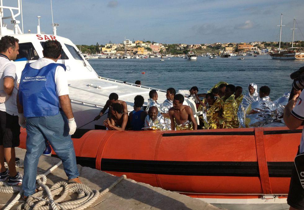 Tragedia de Lampedusa en Italia