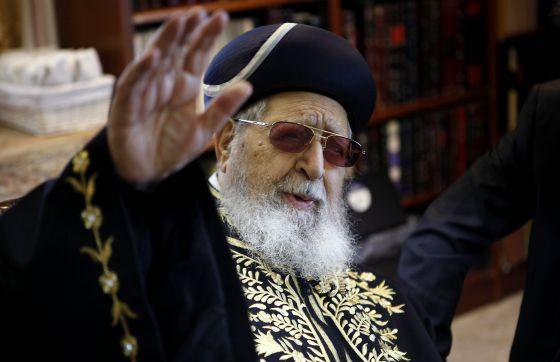 """Rabino de Shas: """"Los judíos reformistas son idólatras"""""""