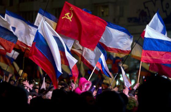 El 95,5% de los crimeos respalda la incorporación a la Federación Rusa