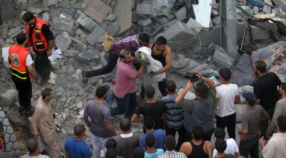 La guerra se ceba con la franja de Gaza
