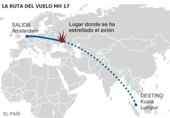 Avión de Malaysian Airlines explota entre Ucrania y Rusia 1405610635_969238_1405613529_sumario_grande