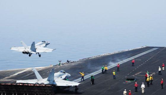 EE UU lanza un ataque contra posiciones yihadistas en Irak