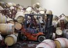 Baño de vino contra el terremoto