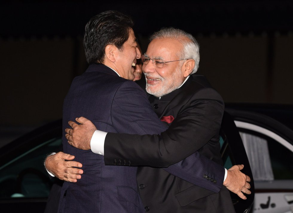 Índia e Japão se aliam diante do crescente poderio da China