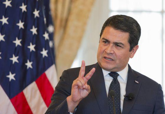 Resultado de imagen para honduras presidente actual