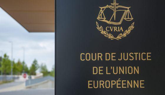 Resultado de imagen de corte justicia union europea