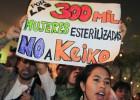 Perú crea un registro de víctimas de esterilización forzada bajo Fujimori