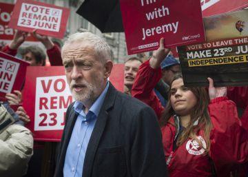 Toques a rebato en el laborismo para evitar que gane el ?Brexit?