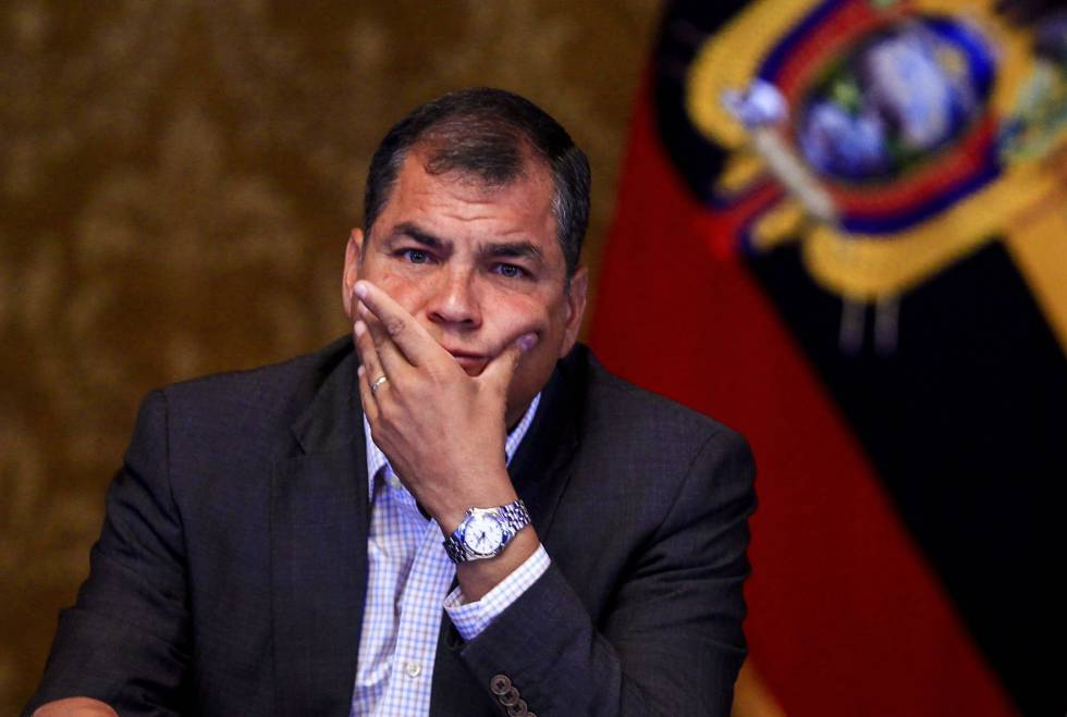 Correa arremete contra los aspirantes en el Diálogo presidencial