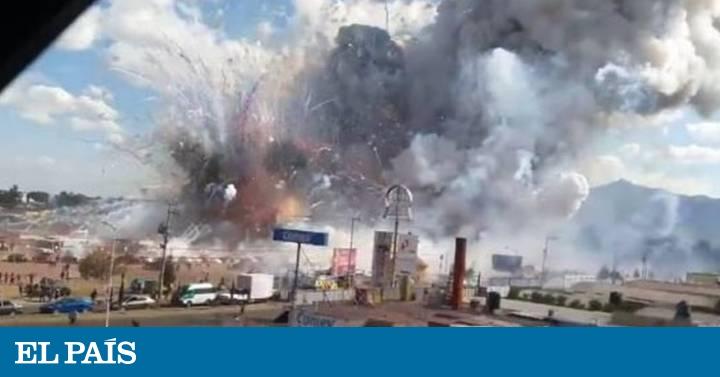 México \u201cLa explosión en Tultepec nos levantó del suelo\u201d