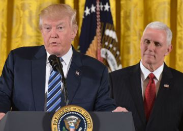 """Trump quiere empezar a """"renegociar"""" el TLC con México en su reunión con Peña Nieto"""
