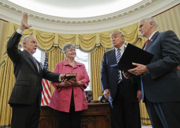El nuevo fiscal general de Estados Unidos promete mano dura en inmigración