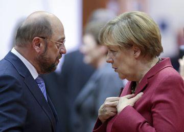 La popularidad de Schulz pone en peligro la victoria de Merkel