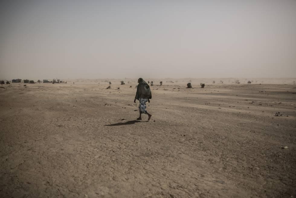 Los refugiados del desierto