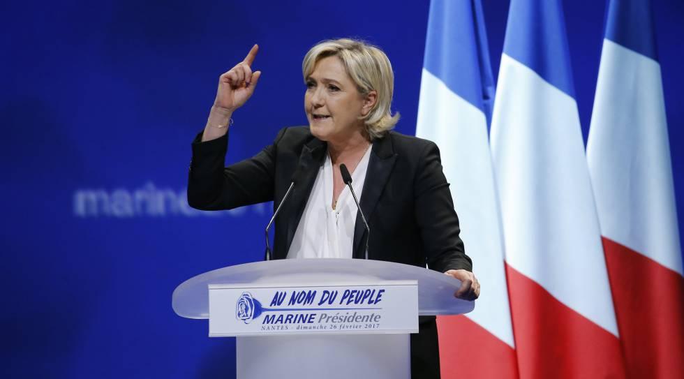 Las amenazas de Le Pen a los jueces contaminan la campaña francesa