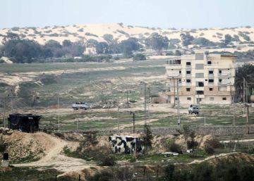 La valla que refuerza el cerco israelí entre Egipto y Gaza