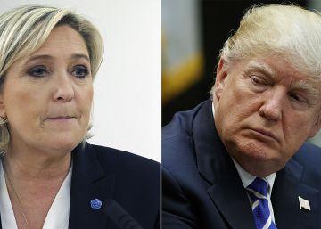 Trump y Le Pen: las diferencias detrás de los parecidos