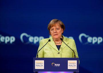 Merkel defiende la integridad territorial de los países de la UE