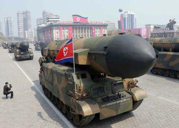 Corea del Norte dispara un mísil balístico en plena escalada de tensión