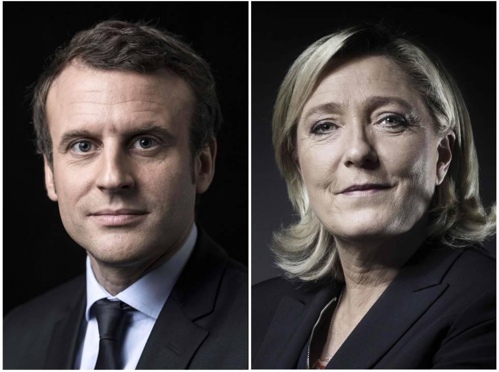 Macron y Le Pen se perfilan como candidatos a la presidencia francesa
