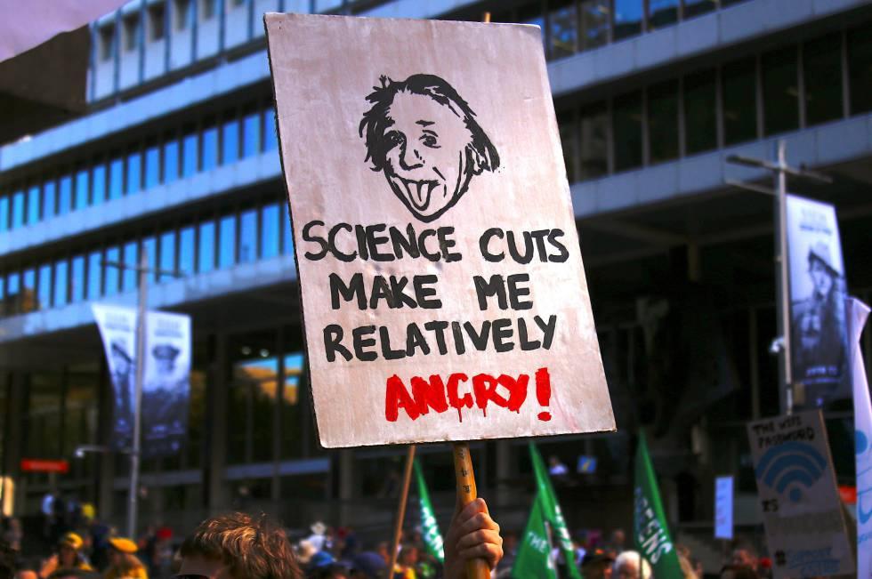 Los mejores carteles de la marcha contra Trump y a favor de la ciencia