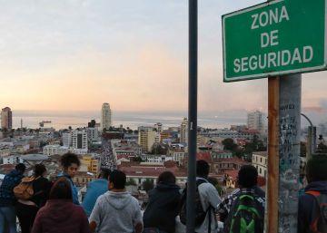 Unos 130 seísmos sacuden en dos días a Valparaíso