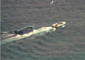 Los traficantes de personas, cazados en plena acción en alta mar