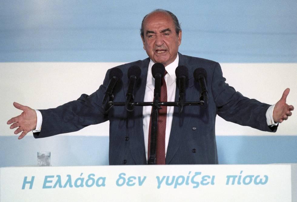 Konstantinos Mitsotakis, el patriarca de una dinastía política griega