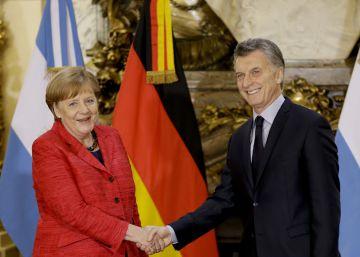 Merkel cierra en Buenos Aires el regreso de Argentina al eje central de las relaciones internacionales