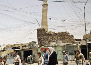 El ISIS destruye la mezquita de Mosul desde la que proclamó el califato