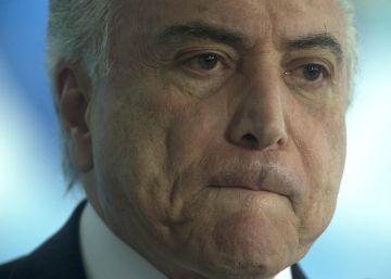 El fiscal pide procesar por corrupción al presidente de Brasil