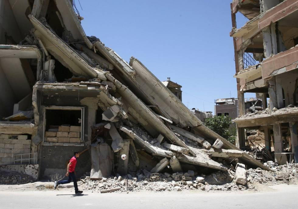 EE UU acusa a Siria de preparar otro posible ataque químico y le amenaza con nuevas represalias