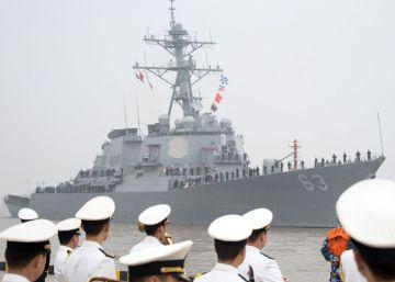 EE UU eleva la presión sobre Pekín al enviar un destructor a las disputadas islas del mar de China