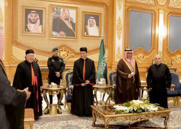 Primera visita oficial de una autoridad cristiana a Riad