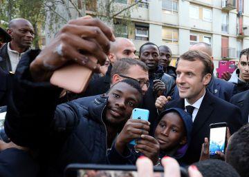 Macron ensaya un giro social tras las acusaciones de ser el presidente de los ricos