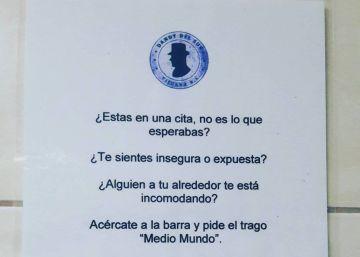Medio mundo: el cóctel de un bar de Tijuana para denunciar la violencia machista