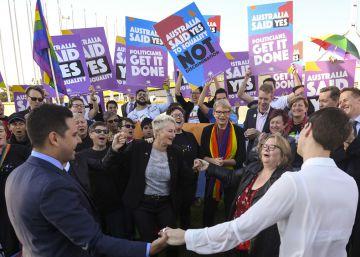 Australia aprueba la histórica ley del matrimonio homosexual