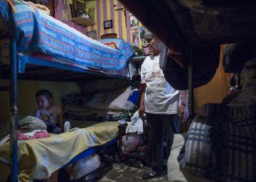La vida en un cuarto de 12 metros cuadrados en México