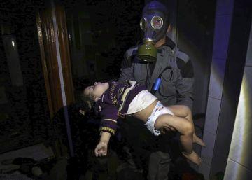 Trump amenaza con represalias a El Asad tras el supuesto ataque químico en Guta