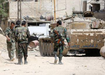 Varios muertos y heridos en un bombardeo contra un aeropuerto militar en Siria