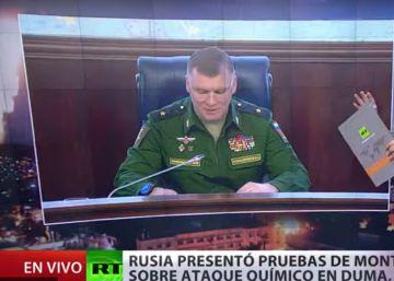 La campaña de desinformación de Rusia sobre la guerra en Siria