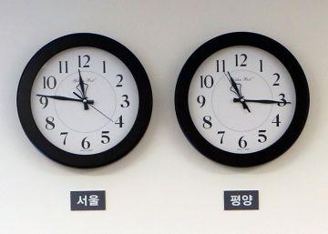 Corea del Norte adopta el huso horario de Corea del Sur