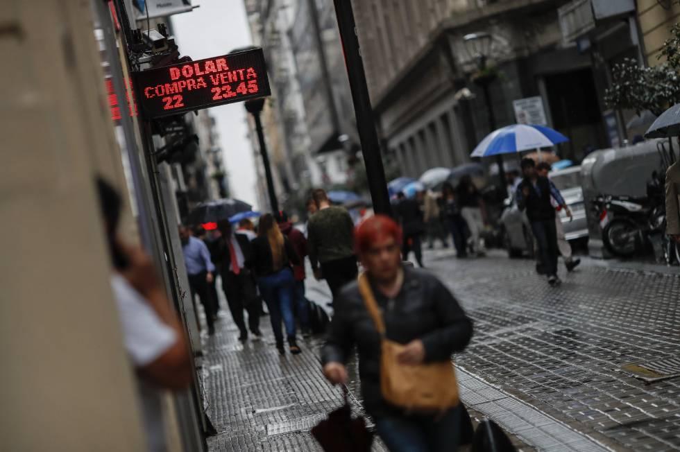 Los argentinos temen al FMI