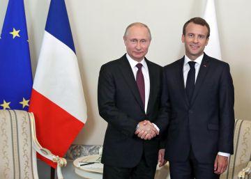 Macron y Merkel afianzan su relación con Rusia y China