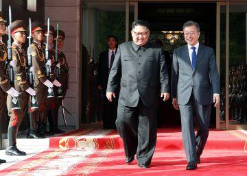 Kim Jong-un sigue interesado en reunirse con Trump, según Moon
