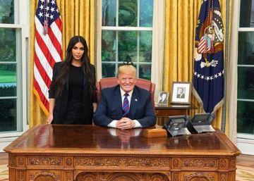Trump indulta a una mujer encarcelada tras la petición de Kim Kardashian