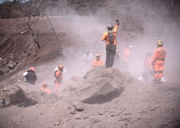 Pánico al pie del volcán de Guatemala
