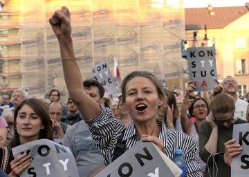 El Gobierno polaco exige a la presidenta del Supremo que desista y deje su puesto