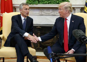 La visita de Trump a Europa plasma el nuevo orden de Estados Unidos
