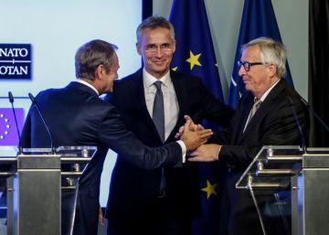 """Tusk: """"Querido Trump, América no tendrá un aliado mejor que Europa"""""""